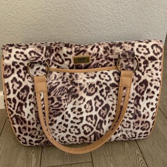 Gigi Hill Handbags - Gigi Hill Tote leopard print